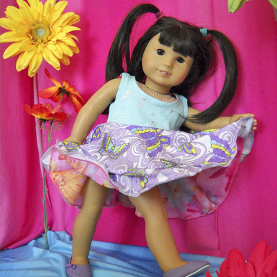18 inch doll dress by TwirlyGirl®