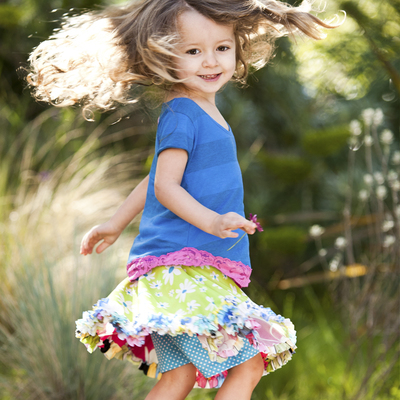 Dress 2T Toddler In Style by TwirlyGirl®