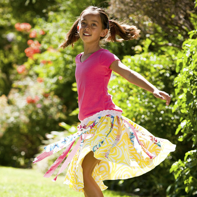 Twirly Skirts For Girls by TwirlyGirl®