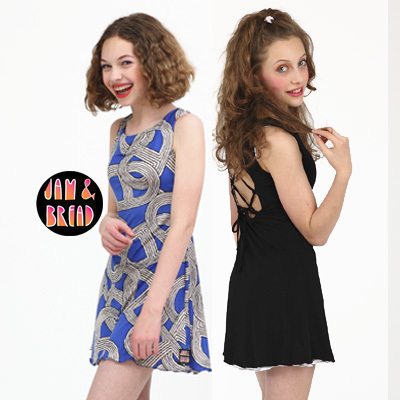 Lace Back Dress For Teens