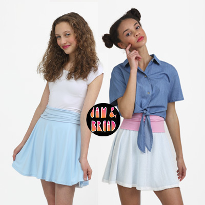 Reversible Twirly Skirts for Teens