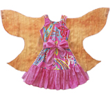Twirl Dress With Wings For Girls