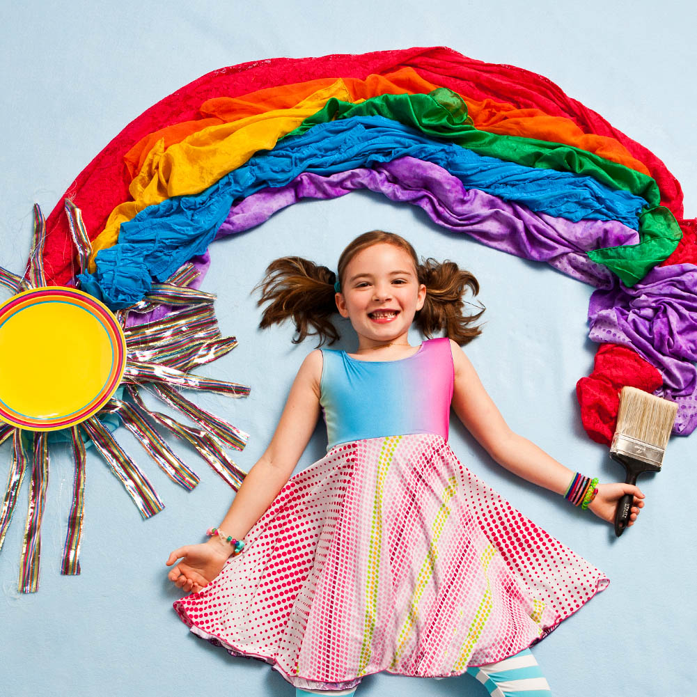 Rainbow Clothing for Girls